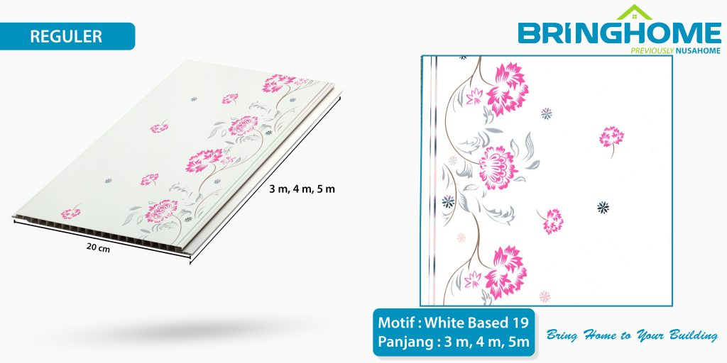 white based 19 bringhome plafon pvc exclusive