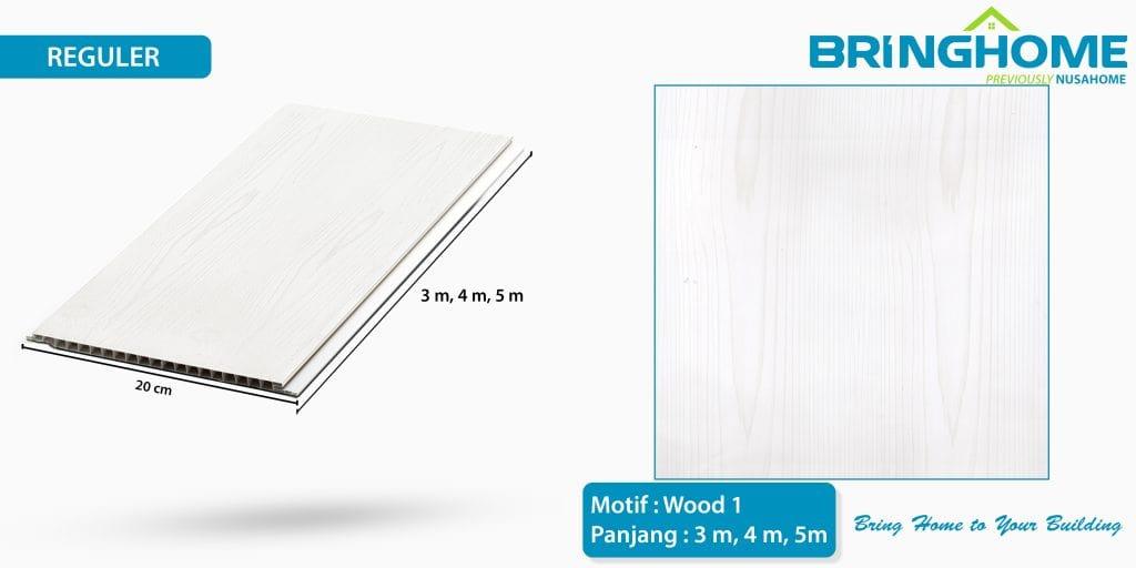 wood 1 bringhome plafon pvc exclusive