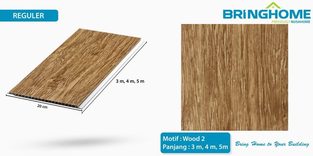 wood 2 bringhome plafon pvc exclusive