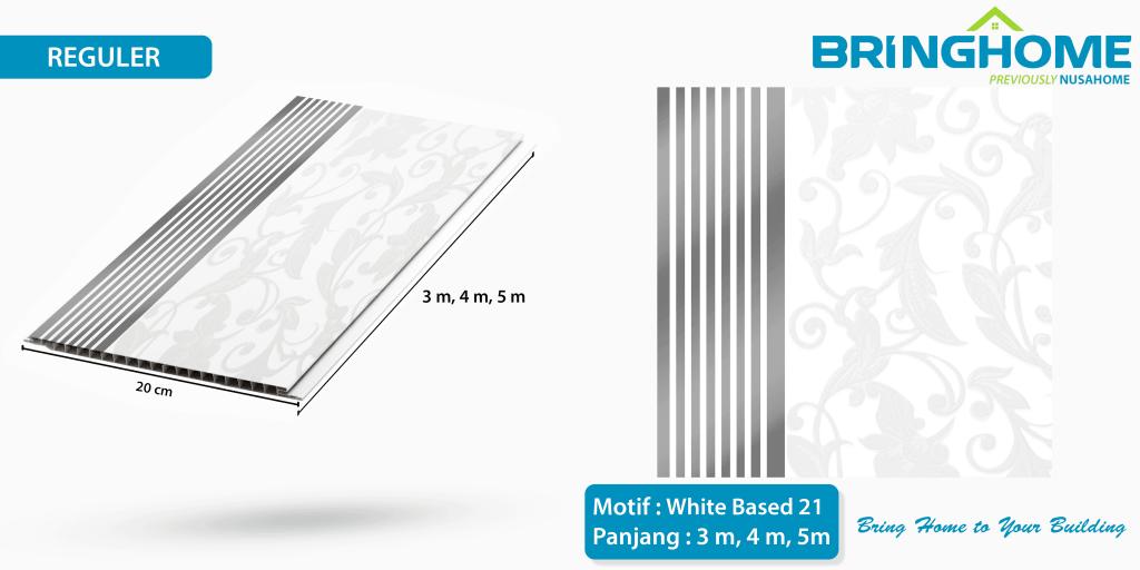 white based 21 bringhome plafon pvc exclusive