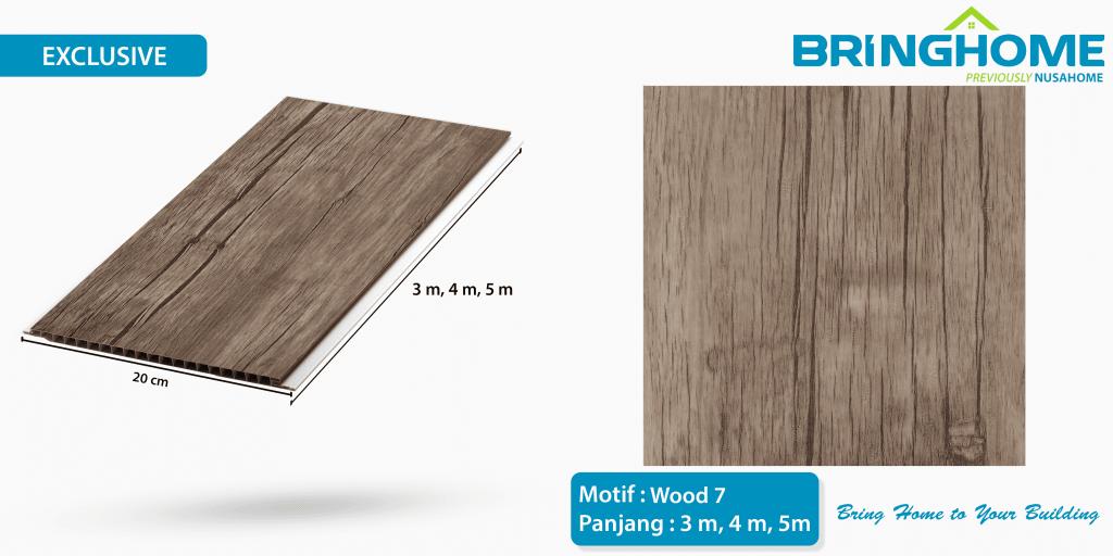 wood 7 bringhome plafon pvc exclusive