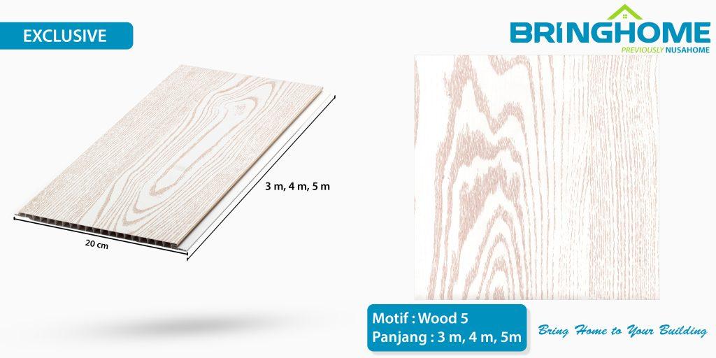 wood 5 bringhome plafon pvc exclusive