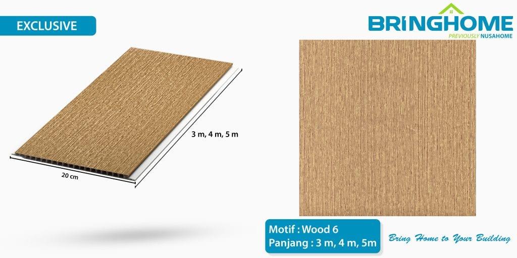 wood 6 bringhome plafon pvc exclusive