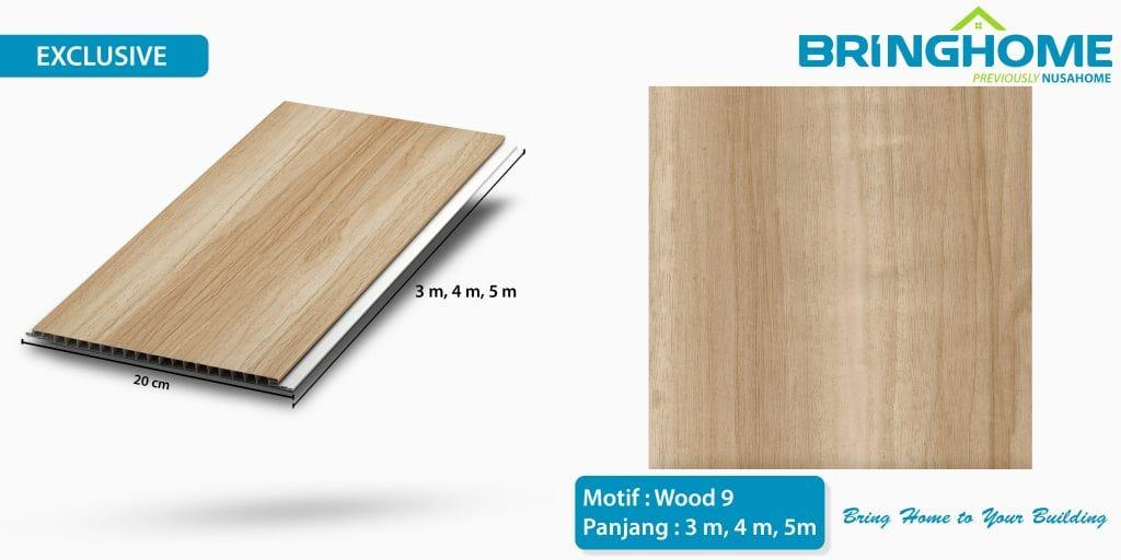 wood 9 bringhome plafon pvc exclusive