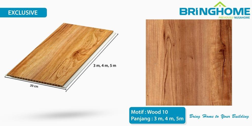 wood 10 bringhome plafon pvc exclusive