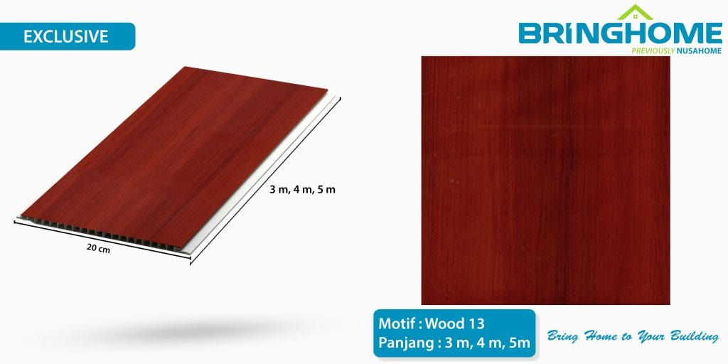 wood 13 bringhome plafon pvc exclusive