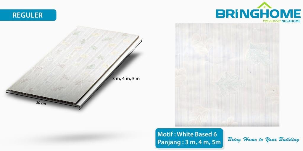 white based 6 bringhome plafon pvc exclusive