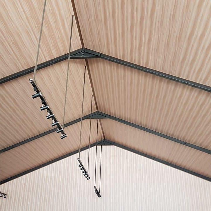 Rumah makan menggunakan Bringhome plafon PVC Exclusive