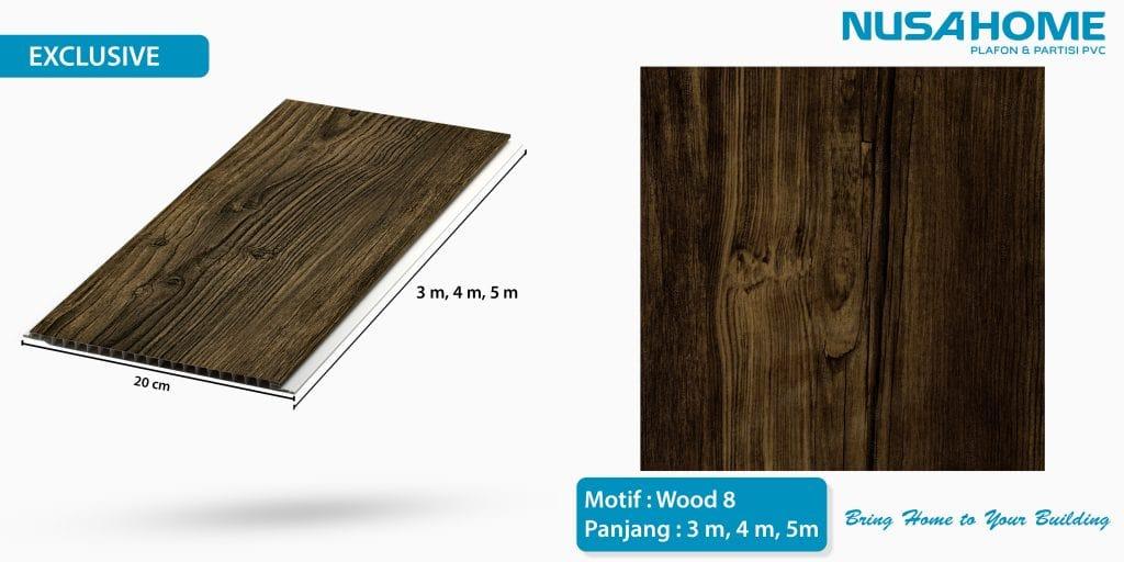 wood 8 bringhome plafon pvc exclusive