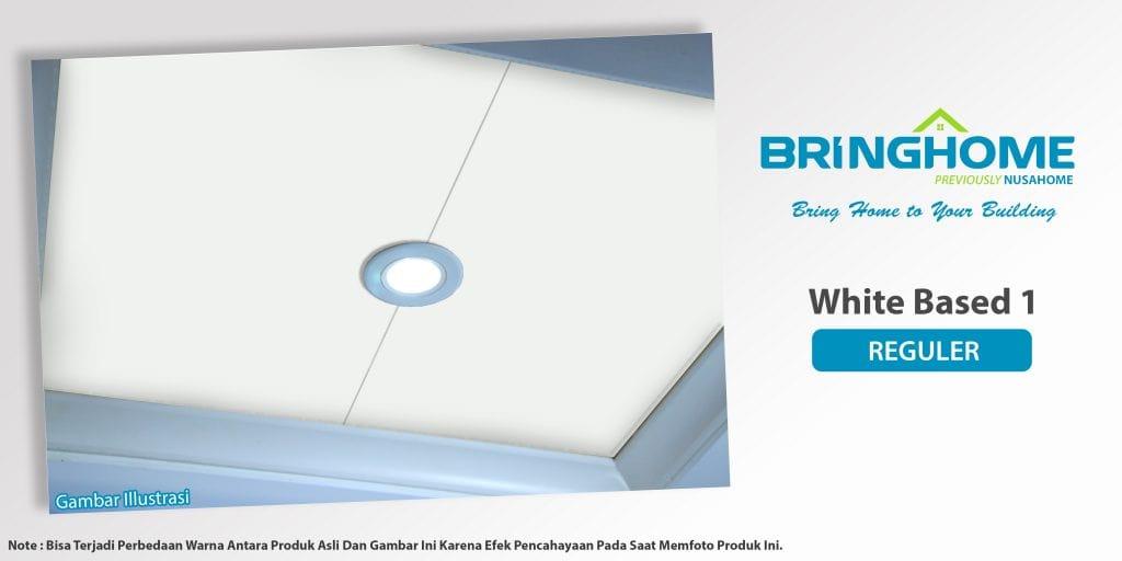 Motif White Based 1 plafon pvc  Bringhome exclusive
