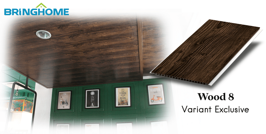 Wood 8 Plafon Bringhome Exclusive